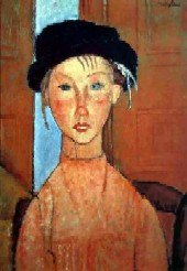 modigliani_YoungGirlinBeret2